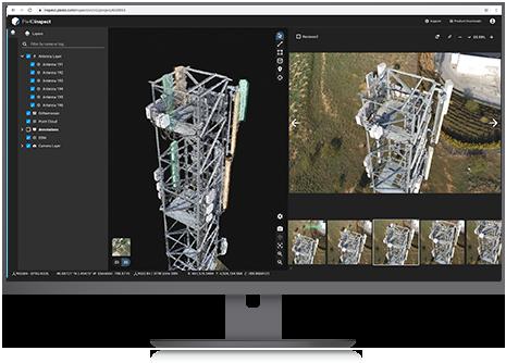 Pix4D, SAP partner on 3D transmission mast inspection