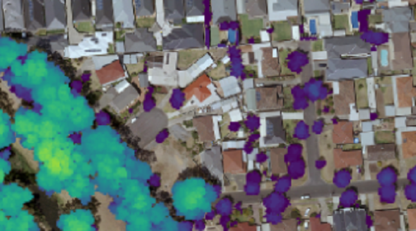 Urban Tree Canopy Management and Change Detection using LiDAR